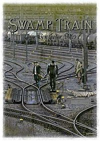 Swamp Train - card with alligator