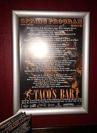 Taco Bar Flier