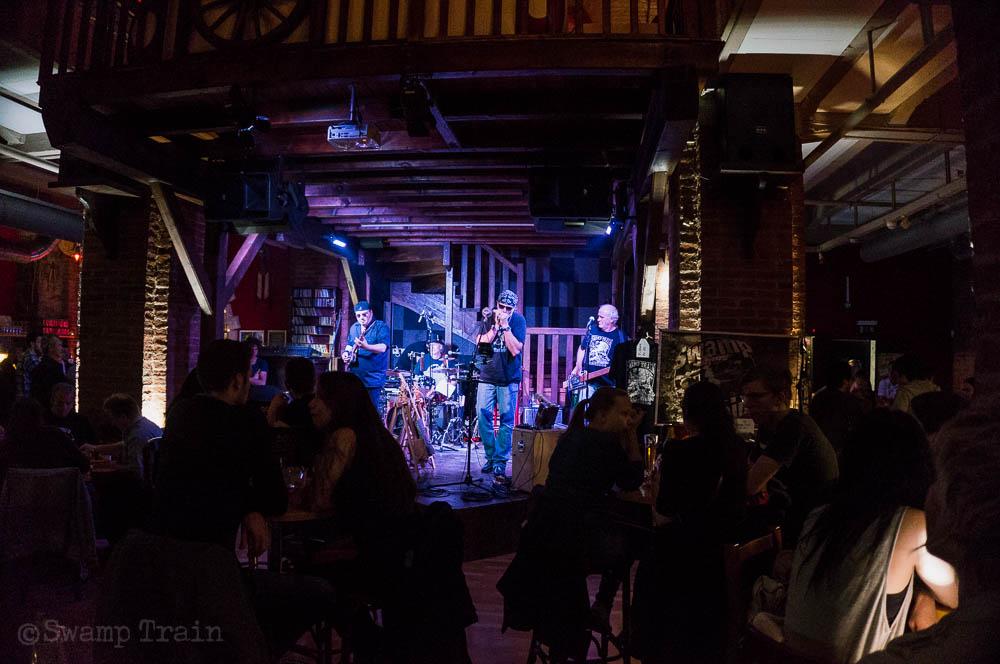 Swamp Train @ the Taco's Bar 25 April 2015