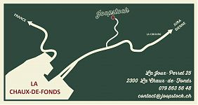 Joopstock carte - map