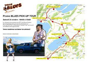 Vully Blues Festival Promo Pick-up Tour