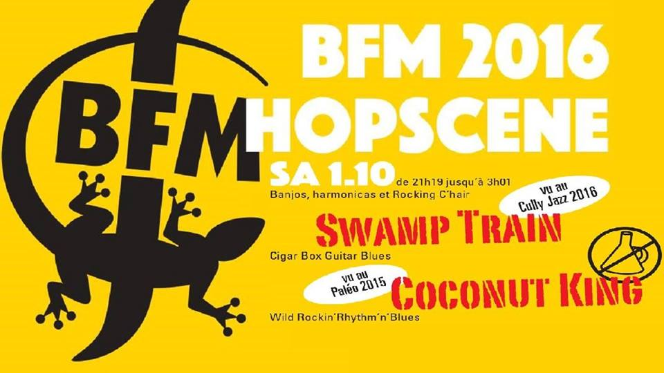 Swamp train @ the BFM Hopscene