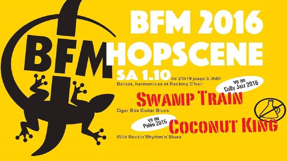 Swamp train @ the BFM Hopscene