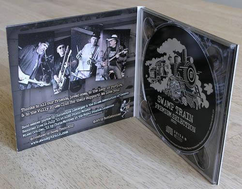CD Premium Selection (Inside / Intérieur)