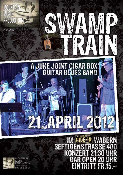 Flier for Ride-In gig 2012